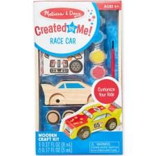 Melissa & Doug Created by Me Craft Kit- Race Car