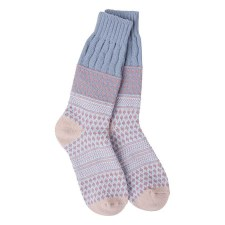 Gallery Textured Crew Socks - Rachael