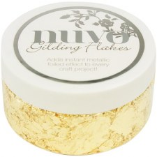 Nuvo Gilding Flakes- Radiant Gold