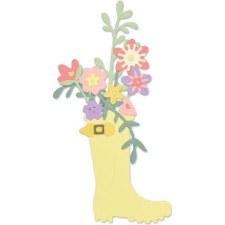 Sizzix Thinlits- Rain Boot Planter