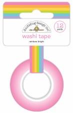 Fairy Garden Washi Tape- Rainbow Bright