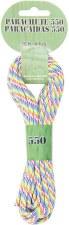 Parachute Cord 4mm x 16ft- Rainbow