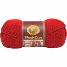 Wool Ease Yarn- Ranch Red