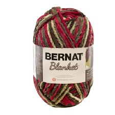 Bernat Blanket Yarn- Raspberry Trifle