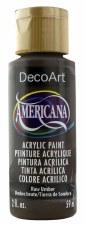 Americana Acrylic Paint, 2oz- Browns: Raw Umber