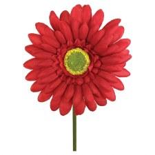 "18"" Gerbera Daisy Stem- Red"