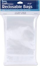 "Reclosable Plastic Bags, 4""x6""- 100ct"