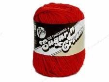 Sugar 'n Cream Yarn- #95 Red