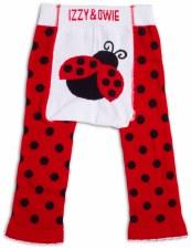 Baby Leggings, Ladybug- 12-24m