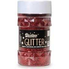 Darice Glitter 4 oz. Jar- Red