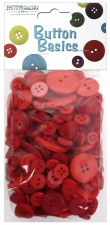 Button Basics- Red Hot