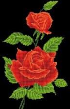 Diamond Facet Art Kit- Red Rose Corsage
