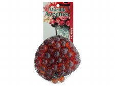 Panacea Decorative Accents Glass Marbles - Red 100pc