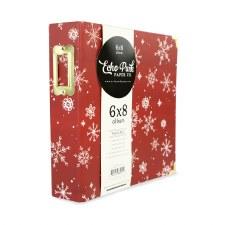 Christmas Market 6x8 Album- Red Snowflakes