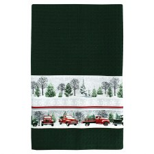 Red Truck Towel Kit - Green