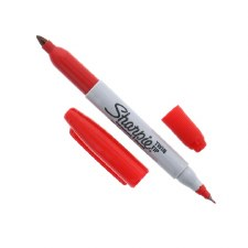 Twin Tip Sharpie - Red