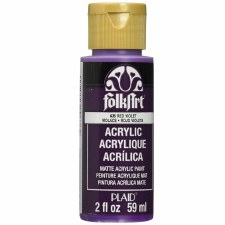 FolkArt 2 Oz. Acrylic Paint- Red Violet