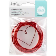 We R Memory Keepers Happy Jig Wire- Red