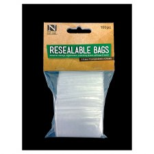 """Resealable Bags, 1.75""""x1.75""""- 100ct"""