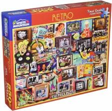 Retro - 550 piece puzzle