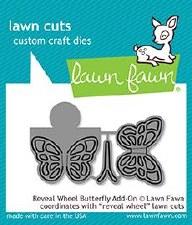 Lawn Fawn Reveal Wheel Add-On Craft Die- Butterfly