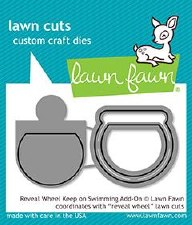 Lawn Fawn Keep On Swimming Reveal Wheel Add-On Dies