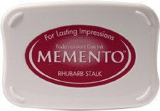 Memento Dye Ink Pad- Rhubarb Stalk