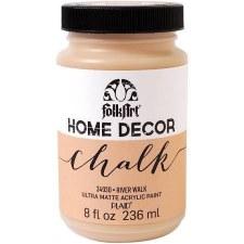 FolkArt Home Decor Chalk Paint 8 oz- River Walk