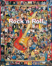 Rock 'N' Roll - 1,000 Piece Puzzle