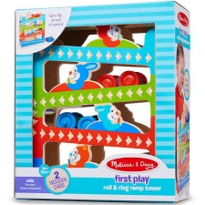 Melissa & Doug First Play- Roll & Ring Ramp Tower
