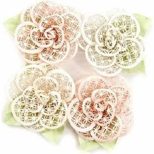 Poetic Rose Flower Embellishments- Beautiful Melody