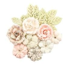 Poetic Rose Flower Embellishments- Enchanted