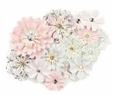 Poetic Rose Flower Embellishments- Magical Melody