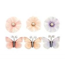Poetic Rose Flower Embellishments- Unique Poems