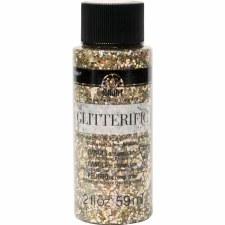 FolkArt Glitterific Glitter Paint, 2 oz- Rose Gold
