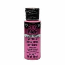 FolkArt 2 Oz. Metallic Acrylic Paint- Rose Shimmer