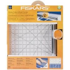 Fiskars Rotary Cutter & Ruler Combo