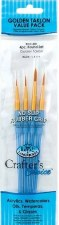 Crafter's Choice Round Brush Set, 4pk