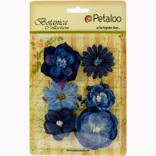 Botanica Chantilly Mix Embellishments- Royal Blue