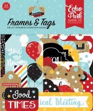 Remember the Magic Ephemera Die Cuts- Frames & Tags