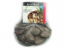 Panacea Polished River Rock 2lb - Rust