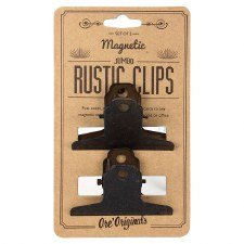 Jumbo Magnetic Rustic Clips, 2pk