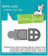 Lawn Fawn Reveal Wheel Add-On Craft Dies- Build-A-House