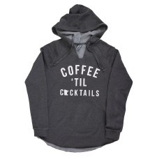 Coffee 'til Cocktails Sweatshirt