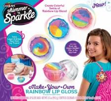Cra-Z-Art Shimmer & Sparkle Craft Kit- Rainbow Lip Gloss
