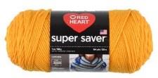 Red Heart Super Saver Yarn- Saffron