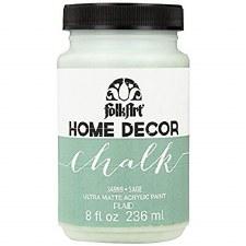 FolkArt Home Decor Chalk Paint 8 oz- Sage