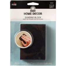 FolkArt Home Decor Tools- Sanding Foam Block