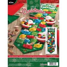 Bucilla Advent Calendar Kit- Santa