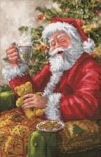Diamond Facet Art Kit- Santa's Cuppa